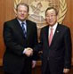 Ban Ki Moon and Al Gore